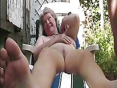 Amateur Mature Outdoor sex