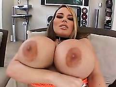 Busty Blonde Pornstar Gets Pounded deep