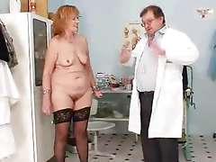 Nice granny go back to the hospital