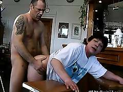 Nasty mature whore goes crazy sucking part3