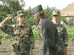 Vintage retro porn, army sex