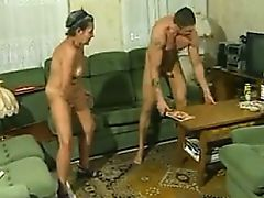 Hairy Granny Fucked At Home By A Big Guy