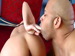 Black Hard Cock For Busty Horny Slut Milf vid-02