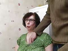 Amateur Old Woman With Huge Tits