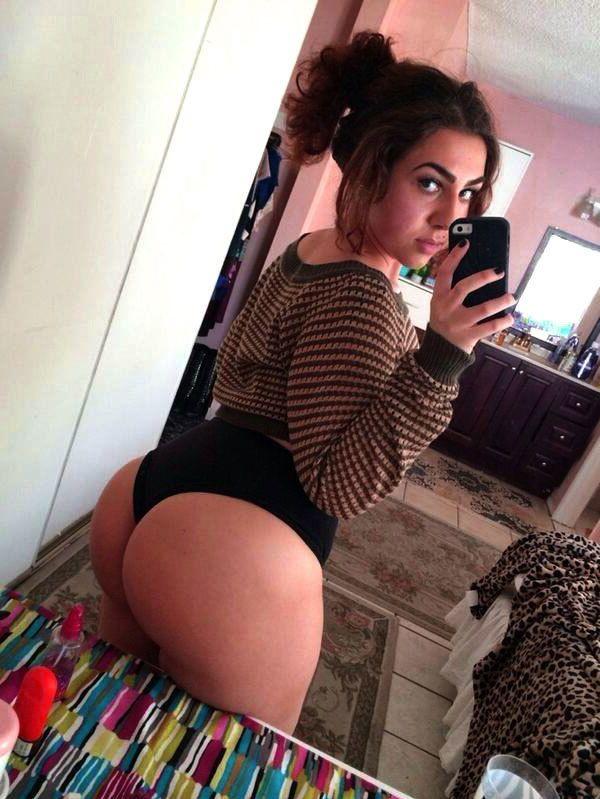 Sexy White Girl Fat Ass