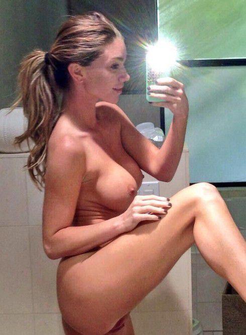 Sexy naked girl in pijamas