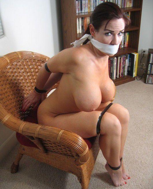 Bondage Mature big tits