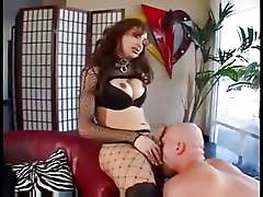Sweet tgirl spending hot night
