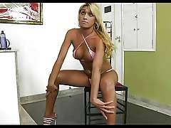 Shemale - Jessica Ketlen Oiled Up