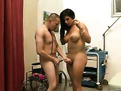 buaty and fat Transsexual Nurses in action