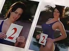 Italian Classic Porn, Perfect Busty BBW naked near pool