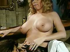 Retro porn actress Tracey Adams and Tori Welles - Blonde And Brunette Retro Lesbian Sex