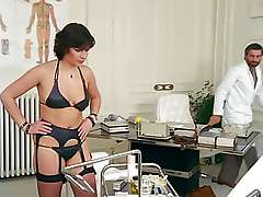 Doctor pussyman tempt woman in cabinet, House Call