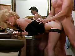 The Big Thrill, mature blonde housewife in dogggystyle