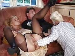German undercover, mature mmf threesome fuck