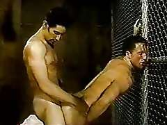 Vintage retro sex, actors - Cliff Parker and Dean Johnson