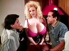 Natural huge breasts, vintage porn Chessie Moore