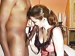 Retro big big black cock Interracial movie