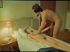 Blindfold game fun vintage clip