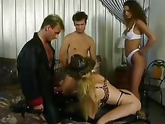 German Classic Group 4some orgy