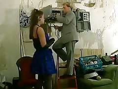 German Classic porn sex in the office