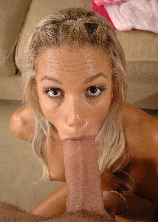 Pov Blowjob Blonde Big Tits